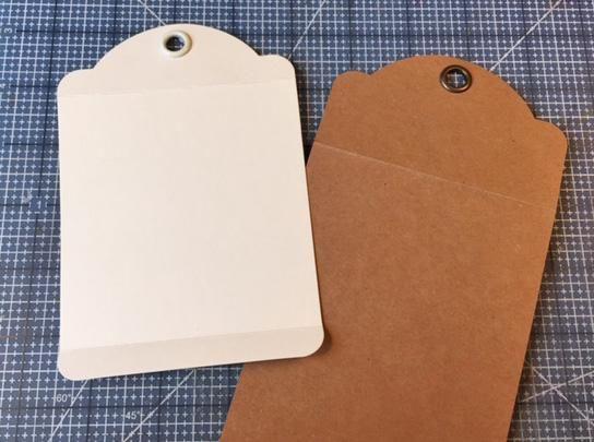 Para una caja que tiene una parte superior que se unirá cerrado, anotar y doblar la parte superior a 1 1/2