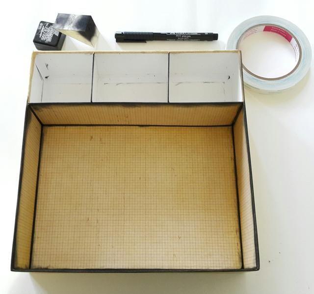 Cubra el exterior con papel, 11½