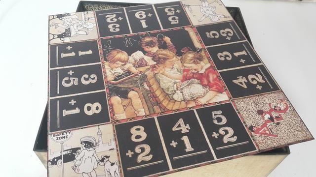 Este cuadro fue inspirado por el famoso juego de mesa