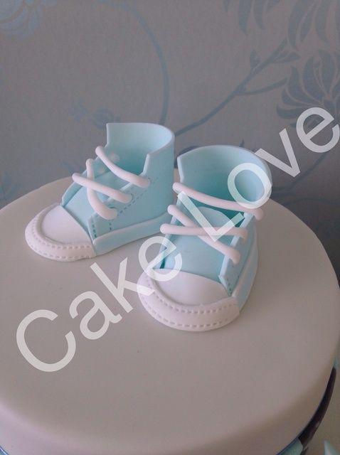 Cómo hacer un zapato Gumpaste bebé