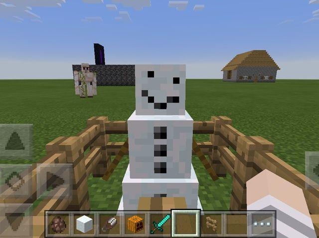 Cómo hacer un muñeco de nieve feliz