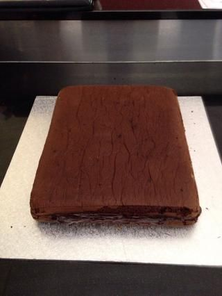 Añadir la capa superior de la torta.