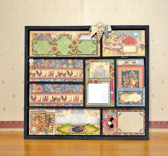 ¡Hecho! Aquí se cocina útil organizar - caja de sombra, también es un guardián de la memoria :)