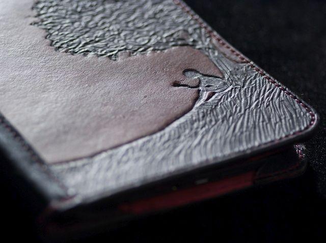 Fotografía - Cómo hacer un estuche de cuero para Kindle Keyboard (Avanzado)