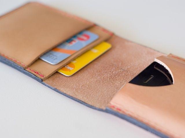 Fotografía - Cómo hacer un iPhone cuero del tirón de la cartera
