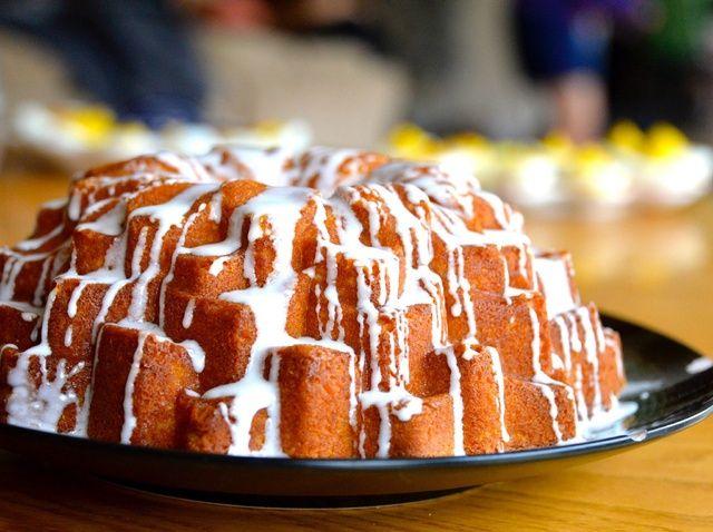 Cómo hacer un pastel de Lemony Bundt Con Limón Glaze Receta