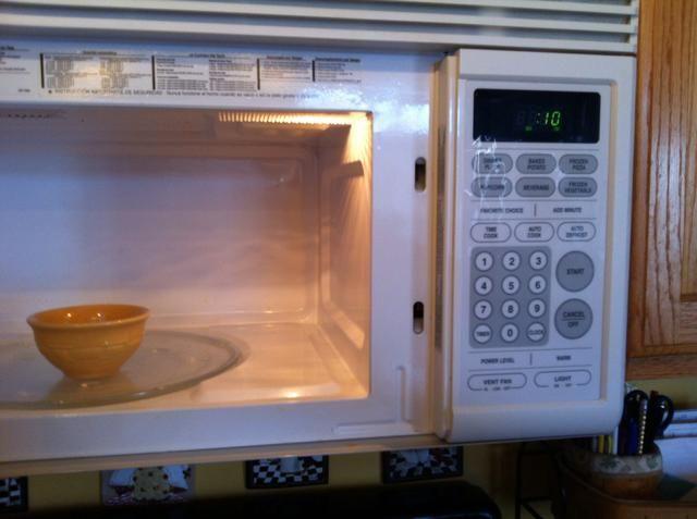 Calentar la vaselina en incrementos de 10 segundos por lo que doesn't burn.