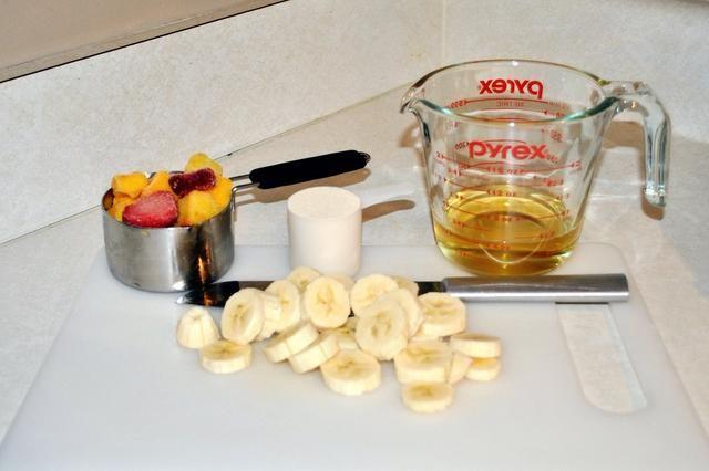 Ahora que todos los ingredientes están listos, se's time to blend!