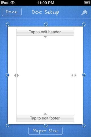 Me gusta esto. Toque en el pincel azul en la parte superior derecha de la pantalla.