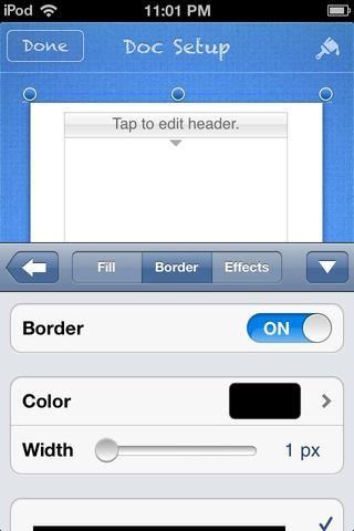 Este será el ganador. Pulse la ficha FRONTERA. Asegúrese de que la frontera es ON. Usted puede ajustar el color y el ancho de la frontera. Hice mi ancho de la frontera de la anchura máx.