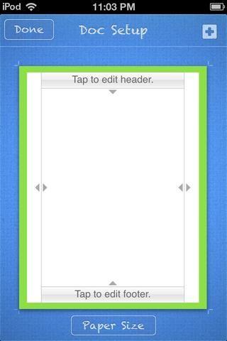 Tuve que ajustar la frontera para que quepa en la página. También lo hice VERDE. En un iPod touch, había una gran cantidad de zoom y paneo y grifos accidentales. (Páginas 1.7 tiene una característica BLOQUEO ahora.)