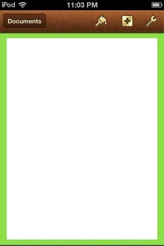 Compruebe cómo se ve en la página principal. Ahora voy a hacer mi LOGO. Usted puede insertar su propio logo. Voy a hacer la mía. Toque la llave en la parte superior derecha de la pantalla y vaya al documento de configuración de nuevo.