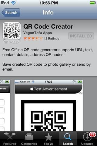 Descarga la aplicación CREADOR QR por VEGANTOFU Aplicaciones de la App Store. (gratis)