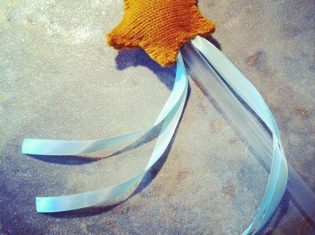 Cómo hacer una varita mágica Fuera de Materiales upcycled