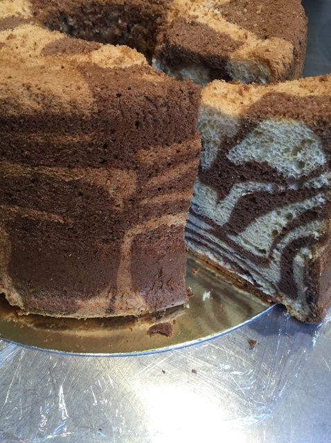 Cómo hacer una receta de pastel de mármol