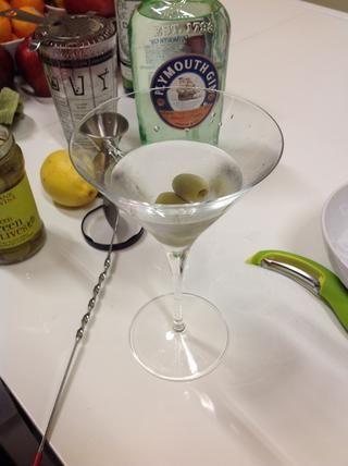 Segunda opción (mi preferencia): aceitunas. Si realmente te gusta el sabor de oliva, hace sus martini
