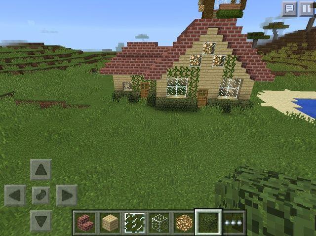 Cómo hacer una cabaña Minecraft