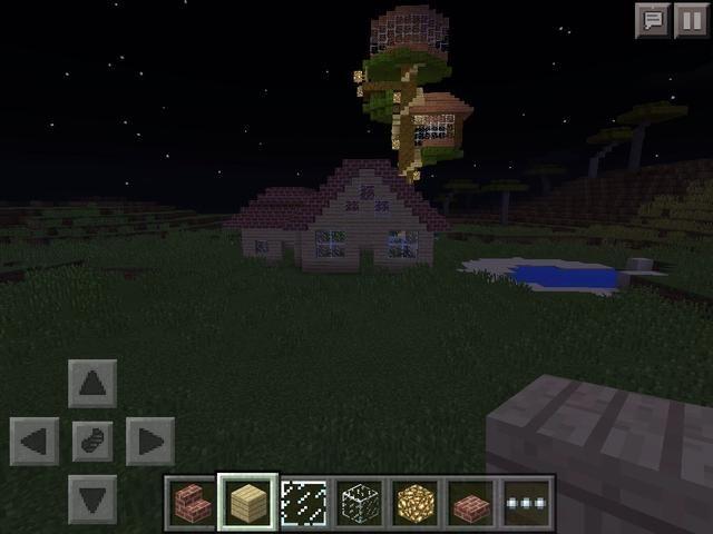 Ahora desea agregar ventanas hasta la parte superior y las escaleras va al revés en la parte delantera de la casa
