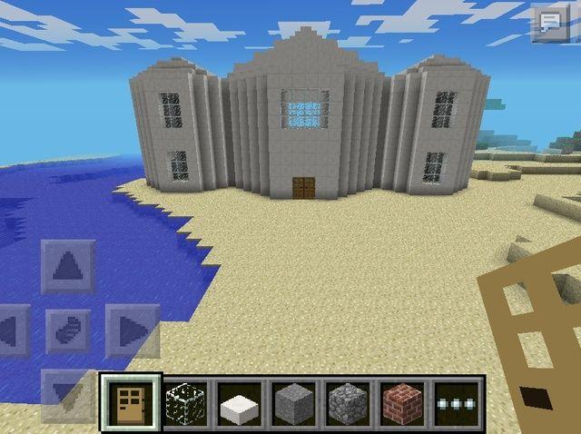 Cómo hacer un edificio del capitolio de Minecraft