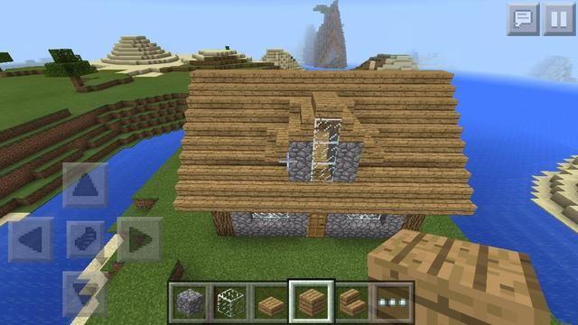 ACABADO una casita preciosa para construir en la supervivencia en el largo viaje a través del mundo de Minecraft