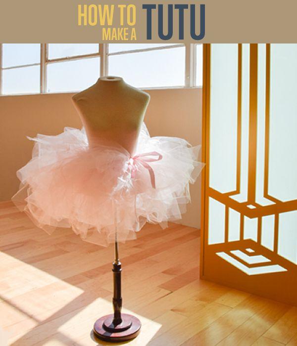 Fotografía - Cómo hacer una falda tutú | Fácil No Sew Tutorial