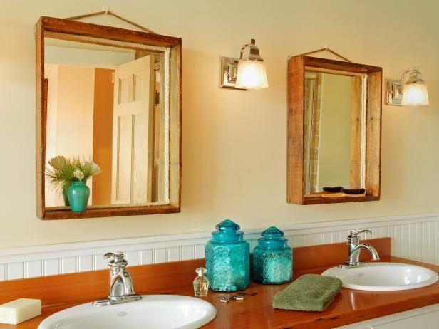Fotografía - Cómo hacer un espejo de una vieja caja de madera