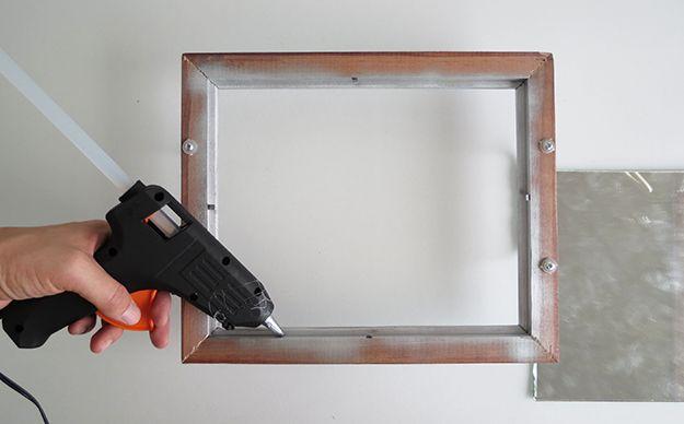 Cómo hacer una bandeja de Espejo | DIY espejo Bandeja Vanidad