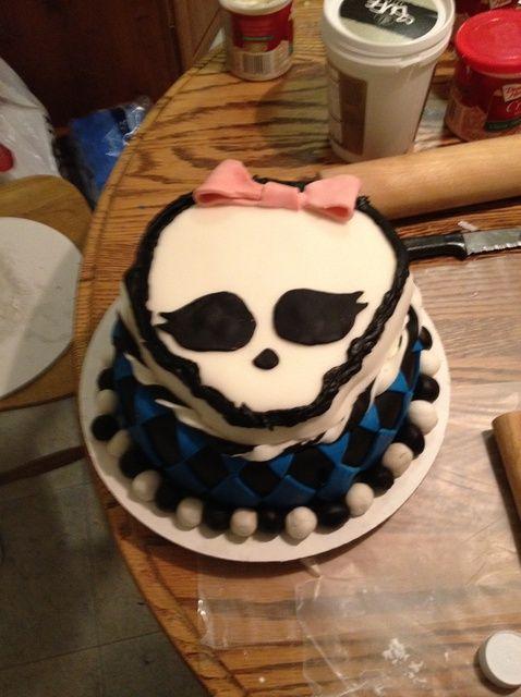 Cómo hacer un Monster High Receta de la torta