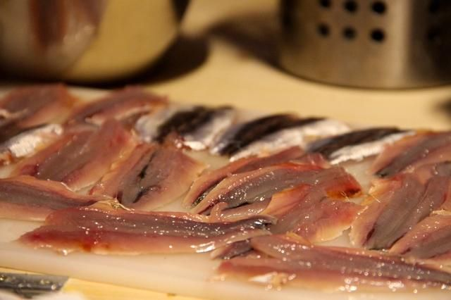 Lávese las anchoas