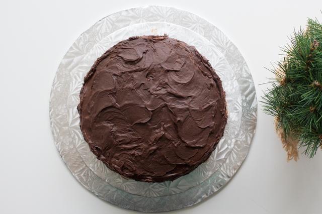 Para post original: http://annezca.blogspot.ca/2015/11/multilayer-chocolate-mousse-cake.html