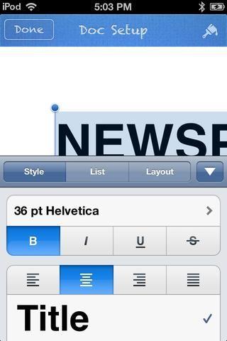 Esta pantalla aparece. Cambiar el estilo a TITLE. Además, centrar el texto.