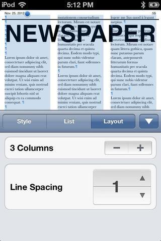 O podemos añadir tres columnas. (Usted puede ajustar el espacio también.)