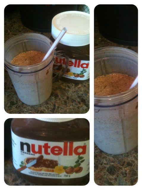 Cómo hacer una Receta Nutella Milkshake