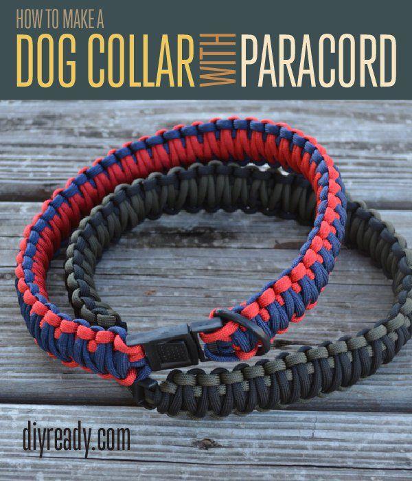 Fotografía - Cómo hacer un collar de Paracord perro | Instrucciones