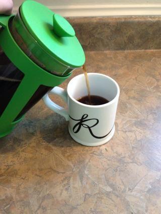Y ahí lo tienen la perfecta taza de café