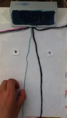 Ate 2 nudos a la derecha por 7.