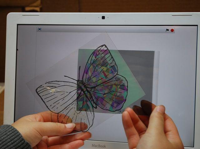Cómo hacer una mariposa de polarización