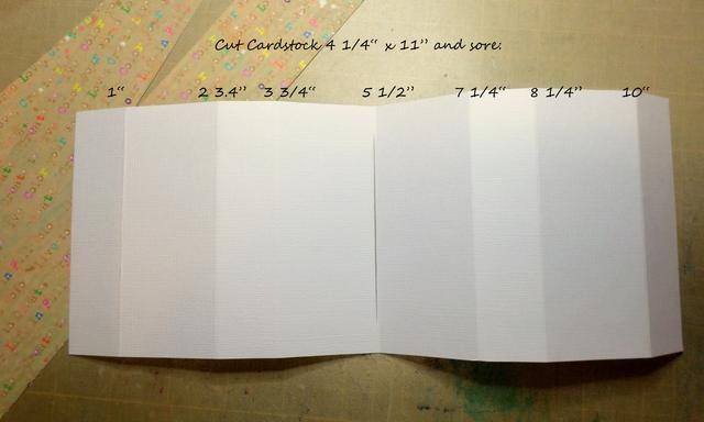 Corte de papel de tarjetas 4 1/4