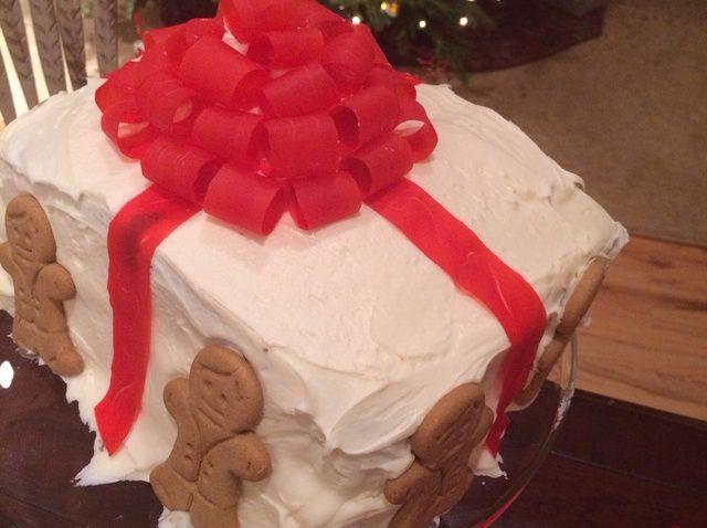 Cómo hacer una receta de pastel Presente
