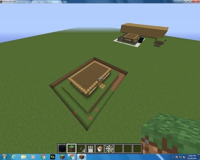 Debe tener un aspecto como este, asegúrese de que está a tres cuadras de la casa en todos los ángulos y los lados.