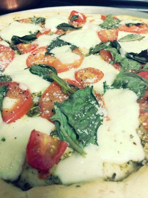 Cómo hacer un rápido, Salados Pizza Margherita Receta