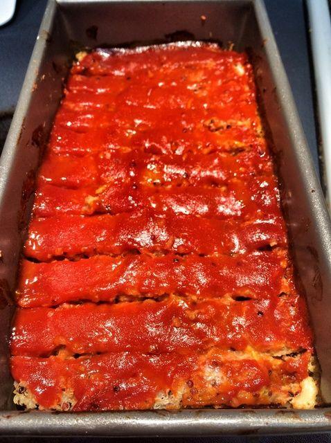 Cómo hacer una Receta quinua Turquía Meatloaf