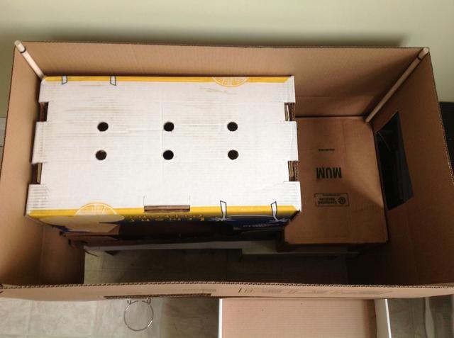 Colocación del comedor para crear el segundo nivel, así como la creación del tercer nivel.