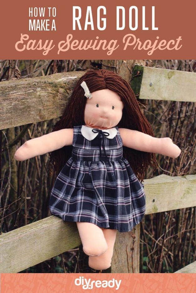 Fotografía - Cómo hacer una muñeca de trapo de coser Tutorial
