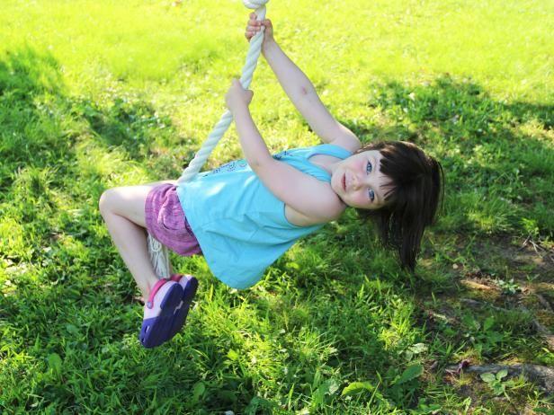 Fotografía - ¿Cómo hacer un columpio spinner cuerda