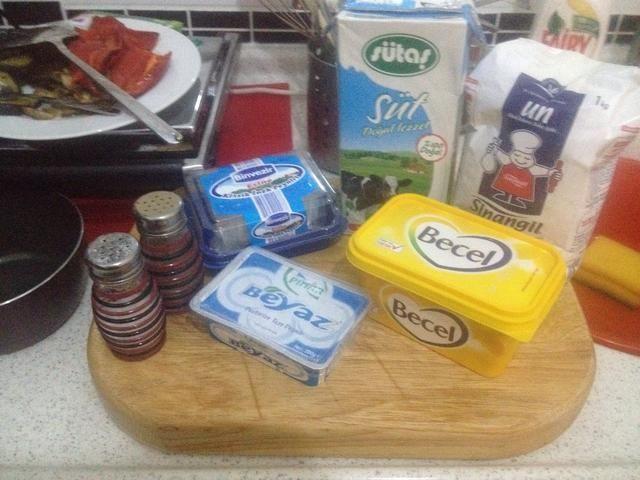 Siguiente la salsa de queso