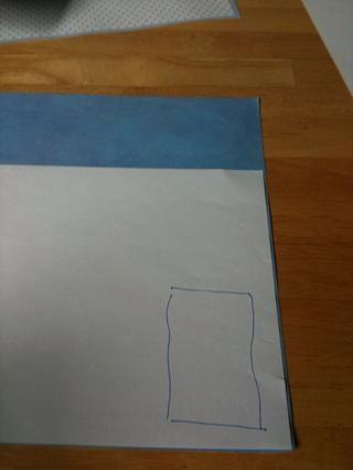 Coloque el papel que en su documento de bloc de notas.