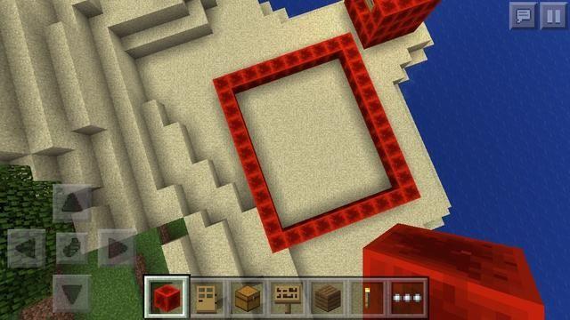 Ahora deja's do the cinema! I used redstone block.
