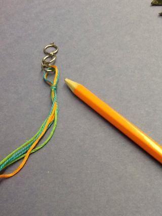 Deslice el lápiz y ahora usted tiene un bucle.
