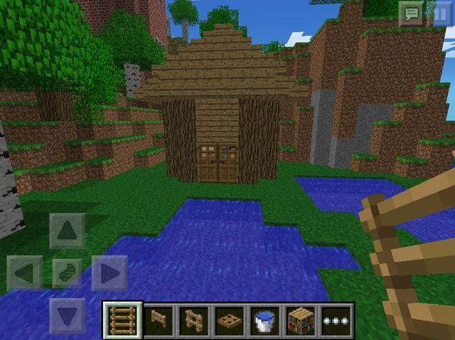 Cómo hacer un Minecraft Casa simple